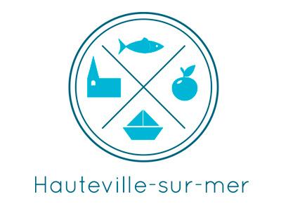 Proposition for a logo of Hauteville-sur-mer logo