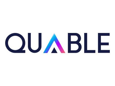 Logo Quable visual identity logo