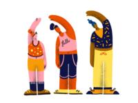 YOGA JOURNEY Illustration