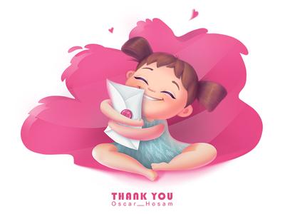 Hello Dribbble! heart splash book illustration adras ikat child color pink 2d zi animation illustration