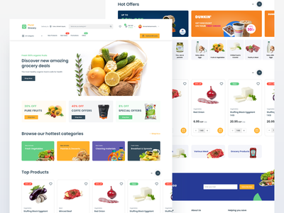 Plural - Grocery and organic food shopping website ecommerce shop ecommerce grocery store grocery online grocery shopping cart shopping app shopping
