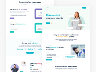 Shafra - Medical DNA analysis website medical product clean card post create