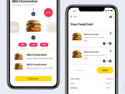 Delivery App. Cart