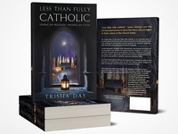 Less Than Fully Catholic - book cover design