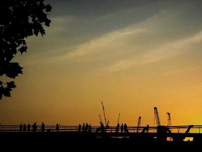 Sunset over London - Photography - Justine Montreuil