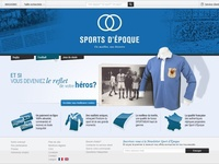 Site E-Commerce / AO Sport d'Époque