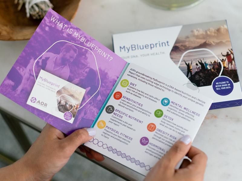 AOR MyBlueprint DNA Kit