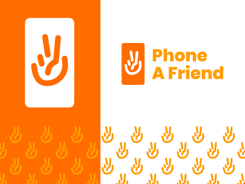 Phone A Friend Brand Identity