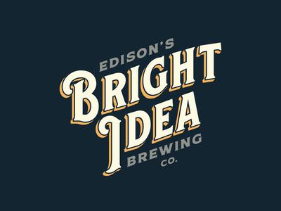 Bright Idea Brewing Co — Logo 1