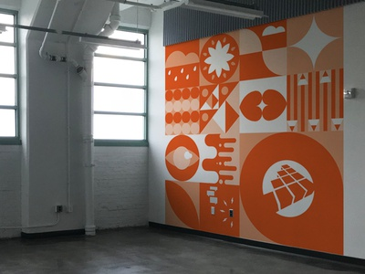 Office Mural Concept