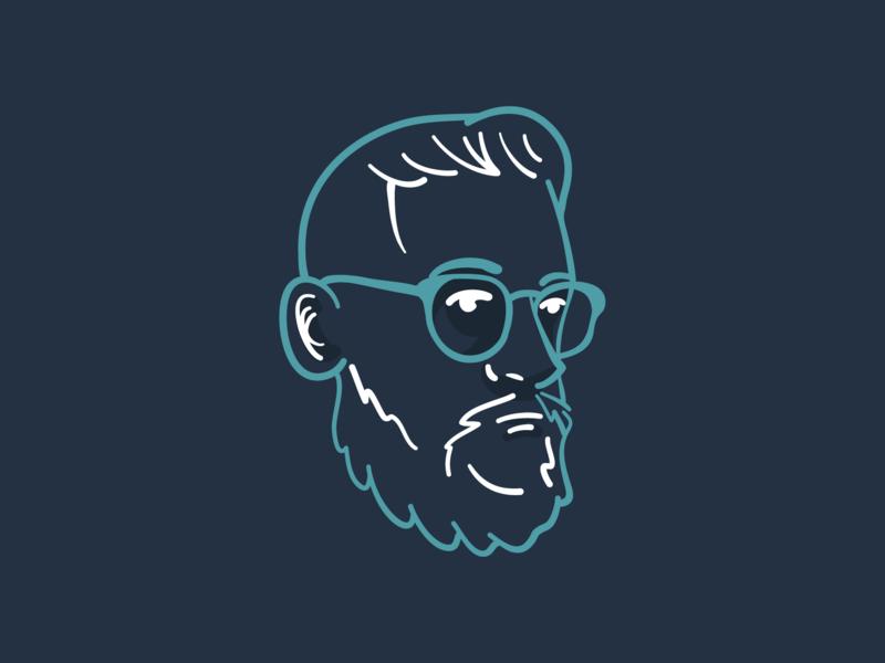 Self Portrait 2019 vector illustration ipad illustrator draw self portrait