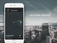 DailyUI 020 - Location Tracker