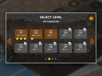 Level Selection selection level html5 videogame game