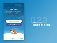 DailyUI #023 - Onboarding