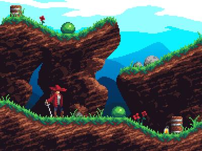 Platformer game design game art pixelart pixel