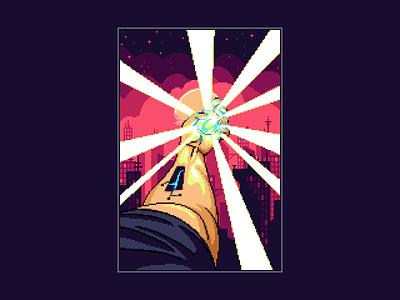 Cyberpunk cityscape cyberpunk pixelart pixel