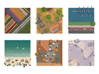 Aerials of Dutch landscapes