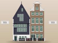 Begijnhof 34 - Oldest house in Amsterdam (1420)
