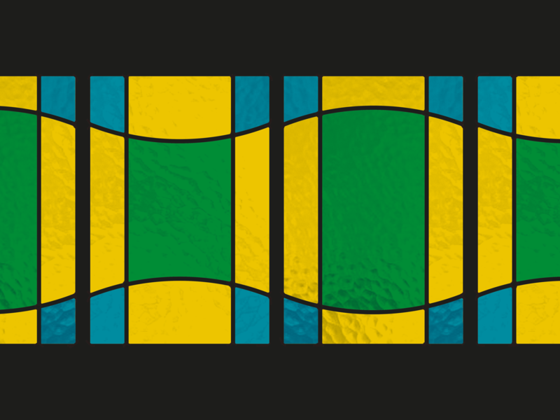 Stained glass  |  1 dutch color block window stained glass stained glass