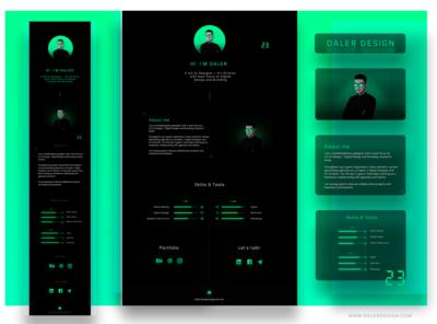 Daler Design - personal site