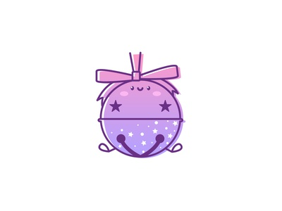 Joyful Bell adobe visual design vector art gradient stars character characterdesign adobe illustrator flat vector illustration kawaii kawaii art illustration cartoon illustration cartoon character cartoon cute illustration cuteart