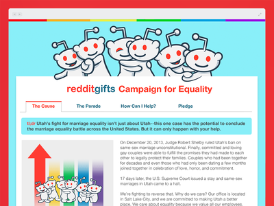 redditgifts Campaign for Equality reddit redditgifts snoo alien logo official equality rights