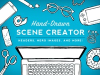 Hand-Drawn Scene Creator