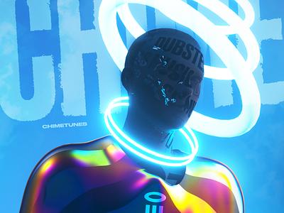 Gosmow - Poster 353 poster art 3d artist octane cinema4d poster gradient everyday design 3d art render 3d