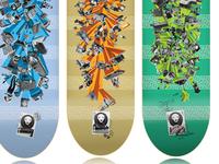 Zion Skateboards board serie