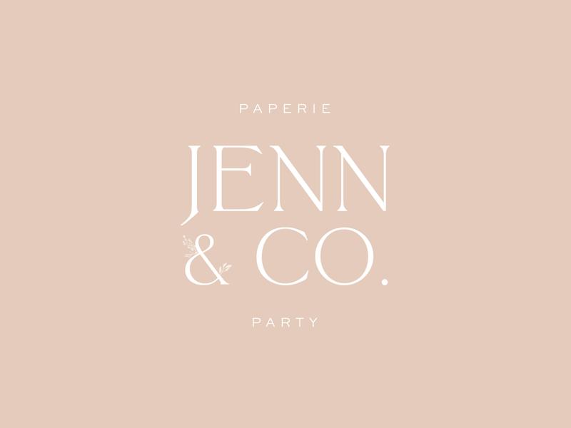 Jenn & Co. Branding