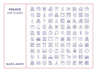 Made By Made | Line Icons – France