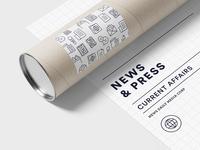 FREEBIE – Made By Made | Line Icons – News