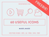 FREEBIE – Made By Made | Line Icons – Useful