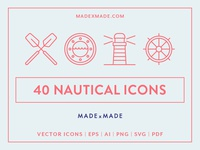 Made By Made | Line Icons – Nautical