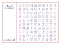 Made By Made | Line Icons – Health