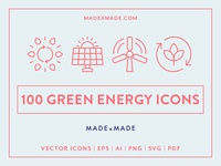 Made By Made | Line Icons – Green Energy