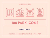 Made By Made | Line Icons – Park