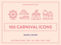 Made By Made   Line Icons – Carnival