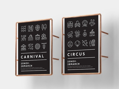 Made By Made | Line Icons – Carnival