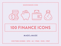 Made By Made | Line Icons – Finance