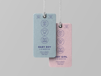 Made By Made | Line Icons – Baby
