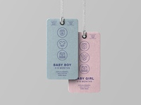 Made By Made   Line Icons – Baby
