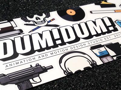 Stickers cigarette lightning bolt diamond skull vinyl uzi vector illustrator logo stickers