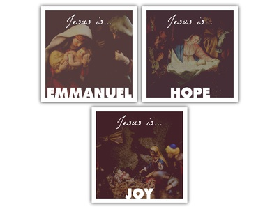 Jesus Is • Social Media Campaign