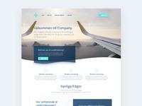 Landing Page in Progress
