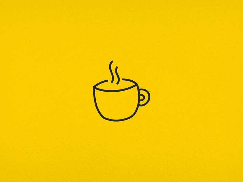 Coffee Mug Icon branding design minimal vector illustration illustrator icon