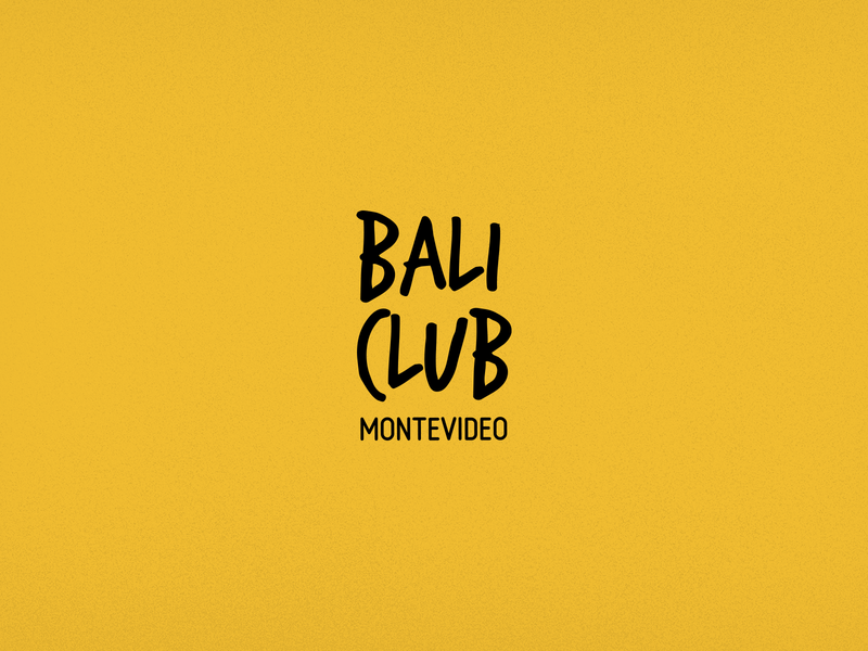 Bali Club Logo dancing logodesign club bali montevideo dance night club nightclub brand logo design logotype minimal vector illustrator icon logo branding design