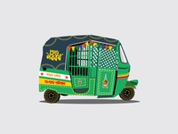 CNG Baby taxy