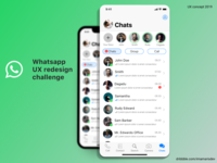 Whatsapp Redesign Challenge (Chat App) Screenshot 2