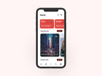 Potential Client Mockups card cards ui cards mobile app design mobile design mobile app mobile ui mobile travelling traveling travel app travel